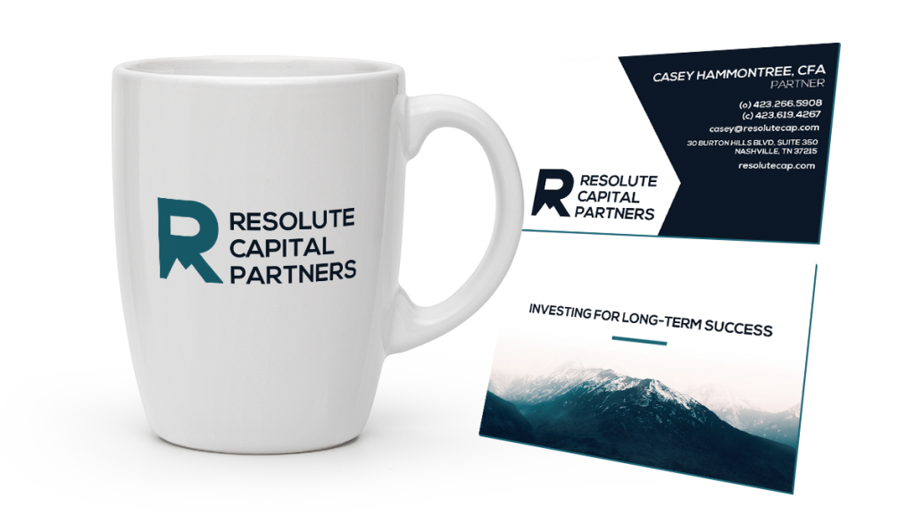 print design for Resolute Capital Partners